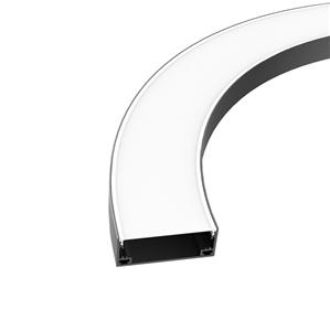 CX100 100mm wide Curved pendant profile 100x37.5mm