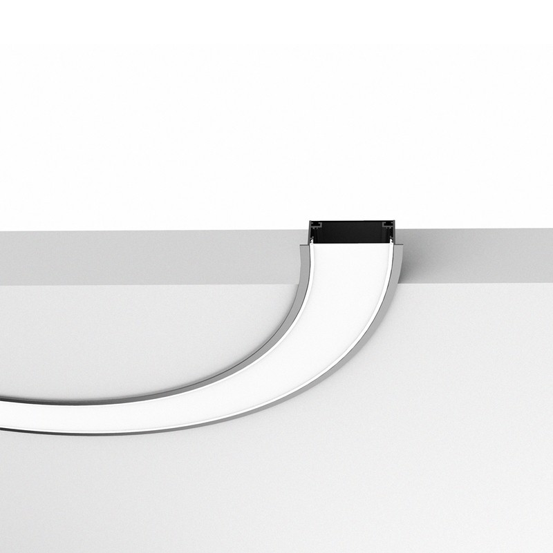 CRX100 Curved led lighting profile 100mm wide item
