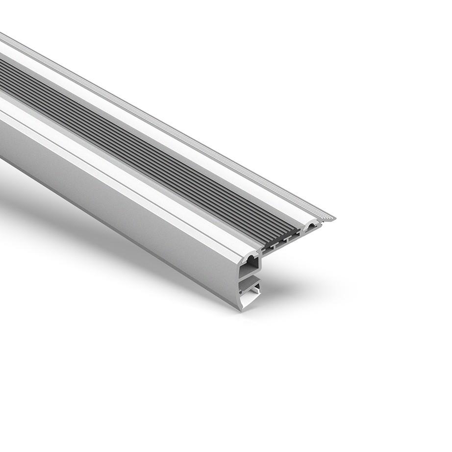 STR3 STEP-Extrusion zur Beleuchtung von Treppen 82,43 x 39,63 mm
