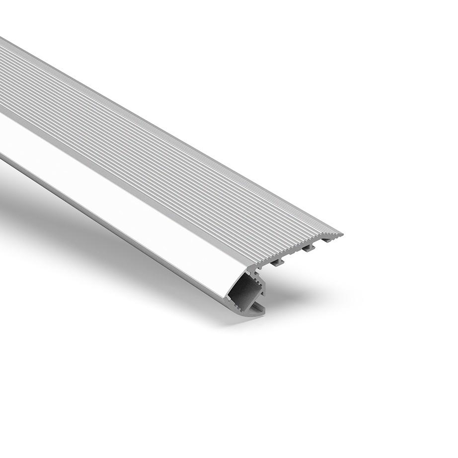 ST1 Treppenkanten-LED-Profil-Uplight für LED-Streifen 67,5 x 27,8 mm