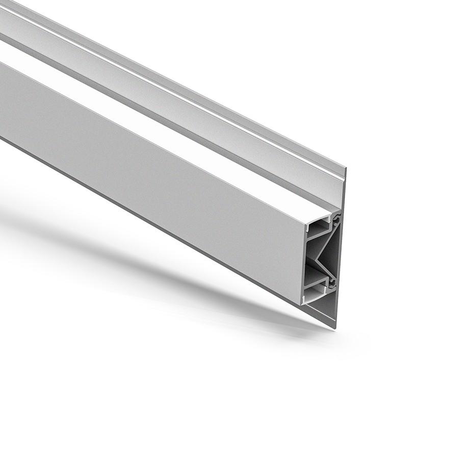 AW4-1 Perfil led para montaje en pared simple arriba y abajo 23.6x83mm
