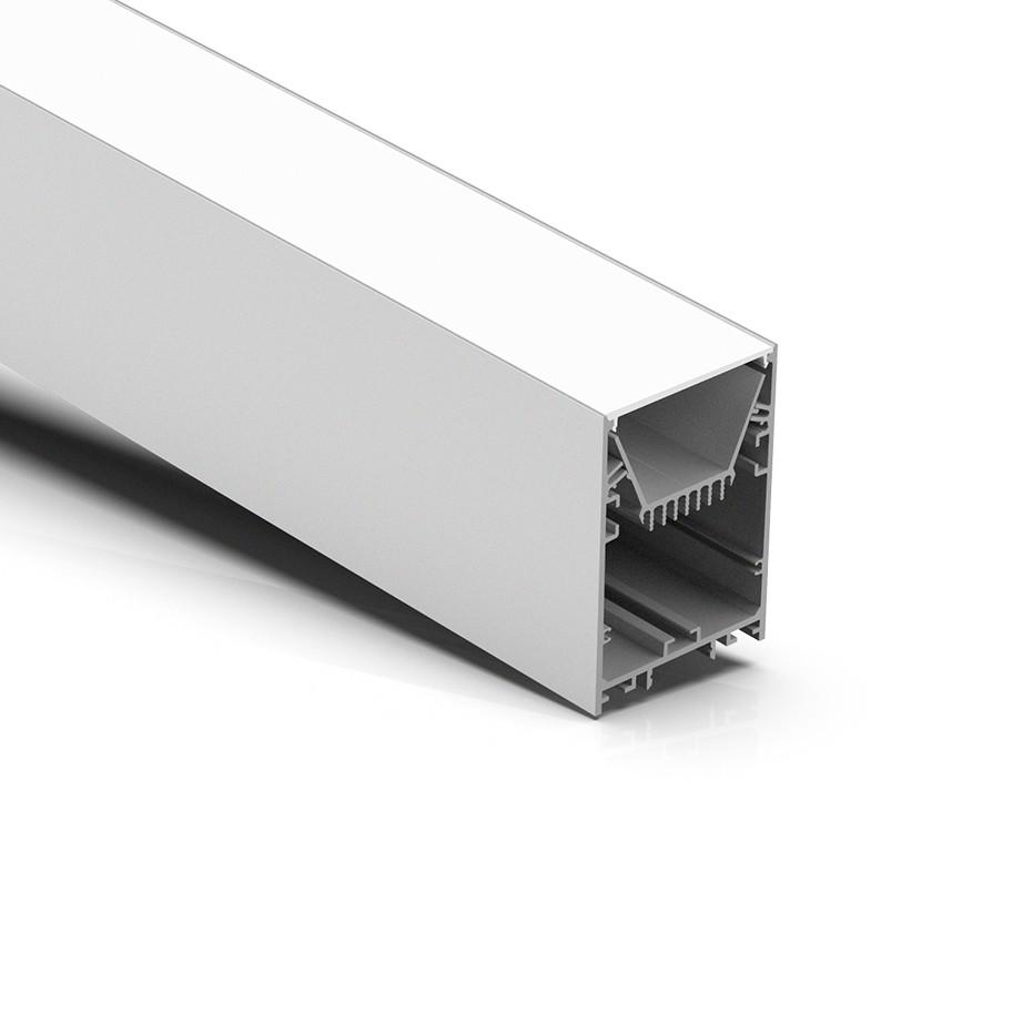 P60 Populær 60 mm bred op / ned ophængt arkitektonisk føringsprofil 60x90mm