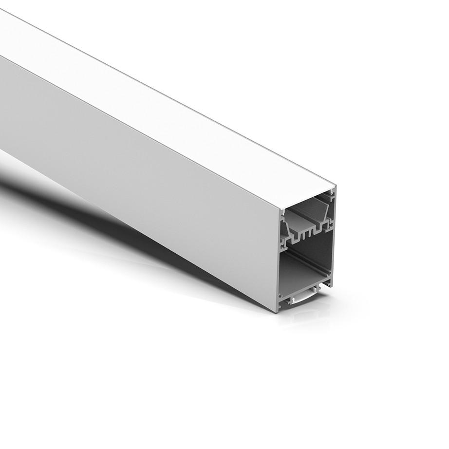 P50N Nyligt opgraderet ophængt led-profil 50x75mm
