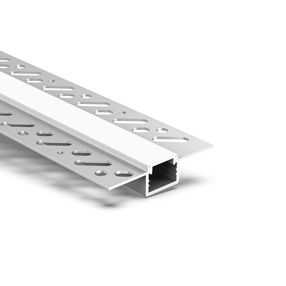 CT5 Trimless Aluminium Extrusions til forsænkning i gipspladevægge og lofter 58.9x13.7mm