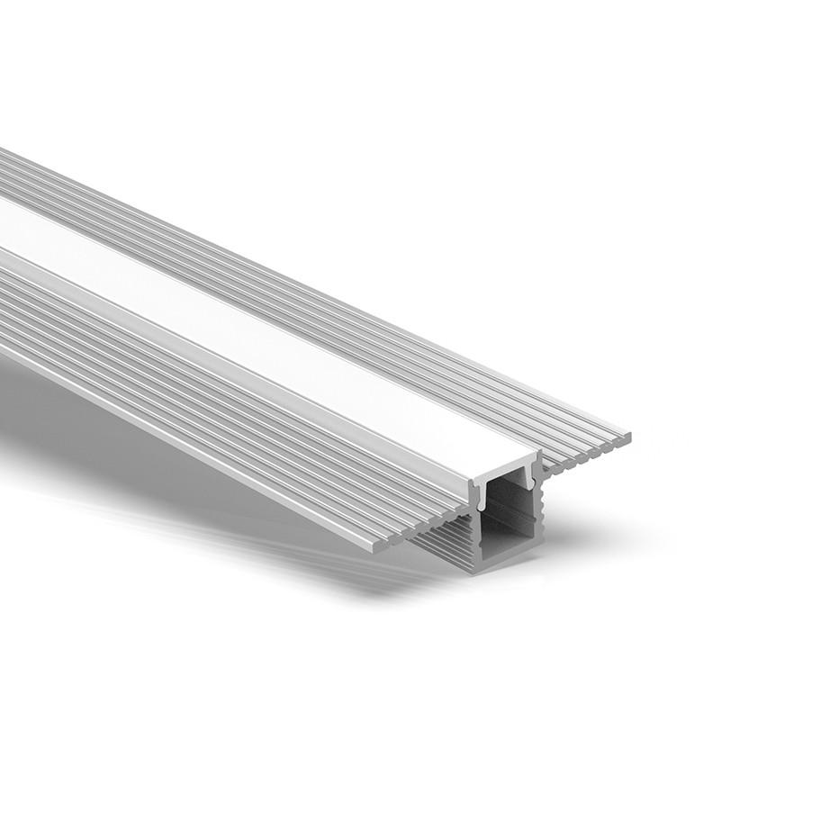 CT9 Trimless Aluminium Extrusions til forsænkning i gipspladevægge og lofter 28x9mm
