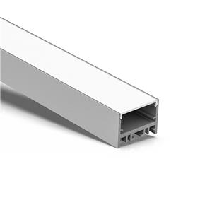 WN35-25 Lower surface square led profile 35x25.4mm