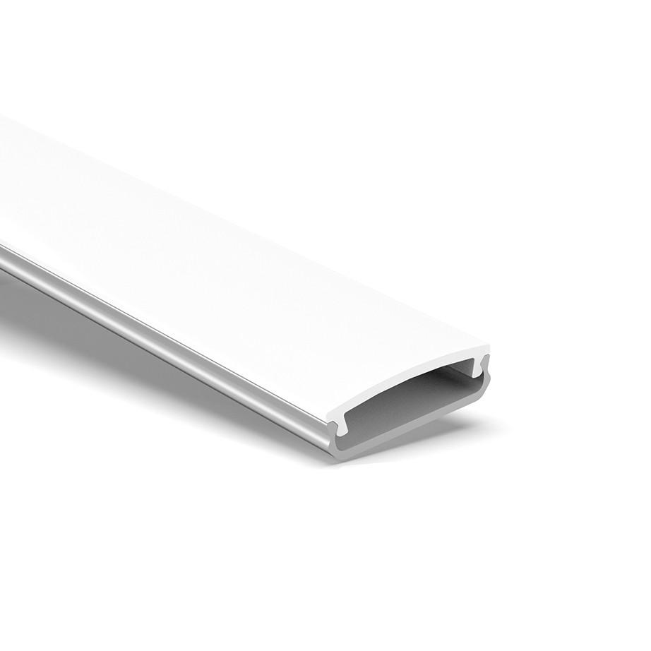 B1 Slim overflademonteret fleksibel ledprofil 19.45x6.5mm