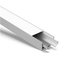 E60 60mm surface and suspended led profile 60x37.5mm