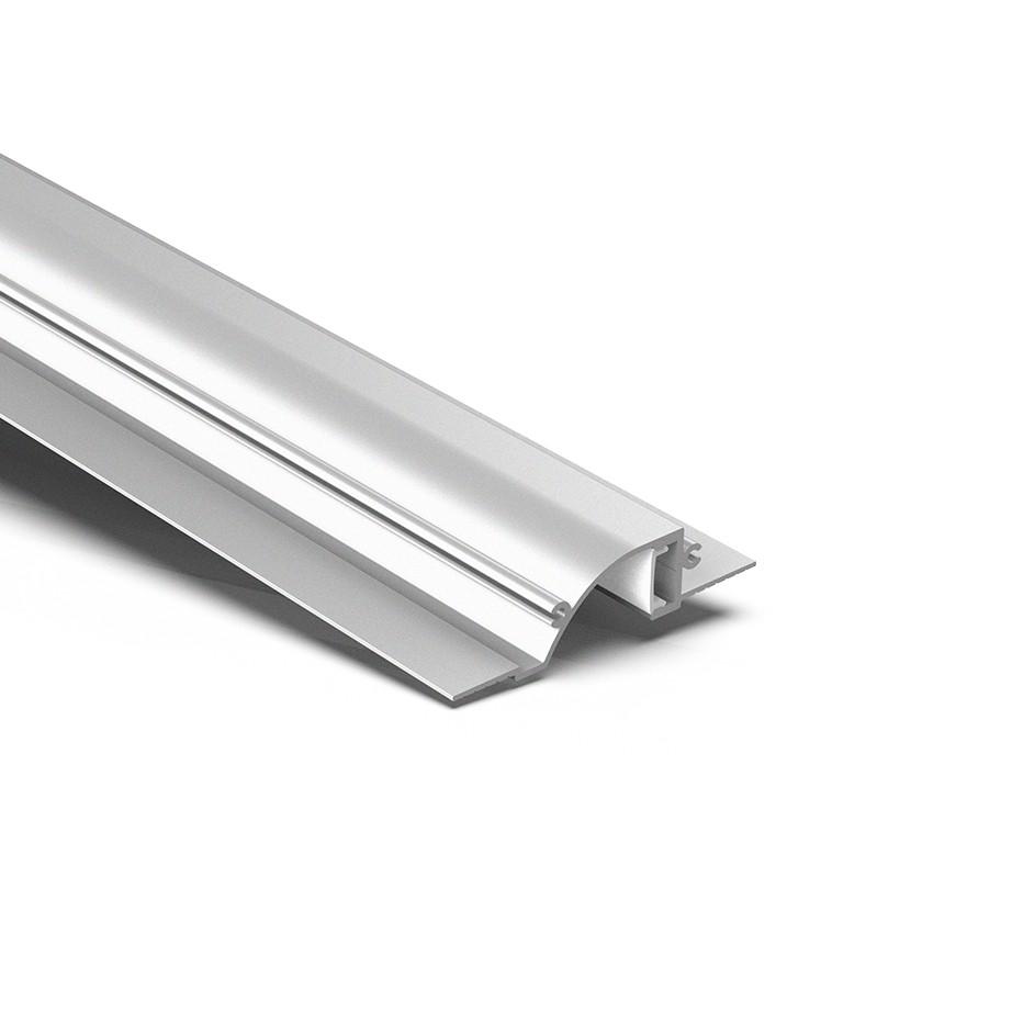 CTW1 Indirekte LED Lineær forsænket trimløs loftslampe-profil 86,5x19,6 mm