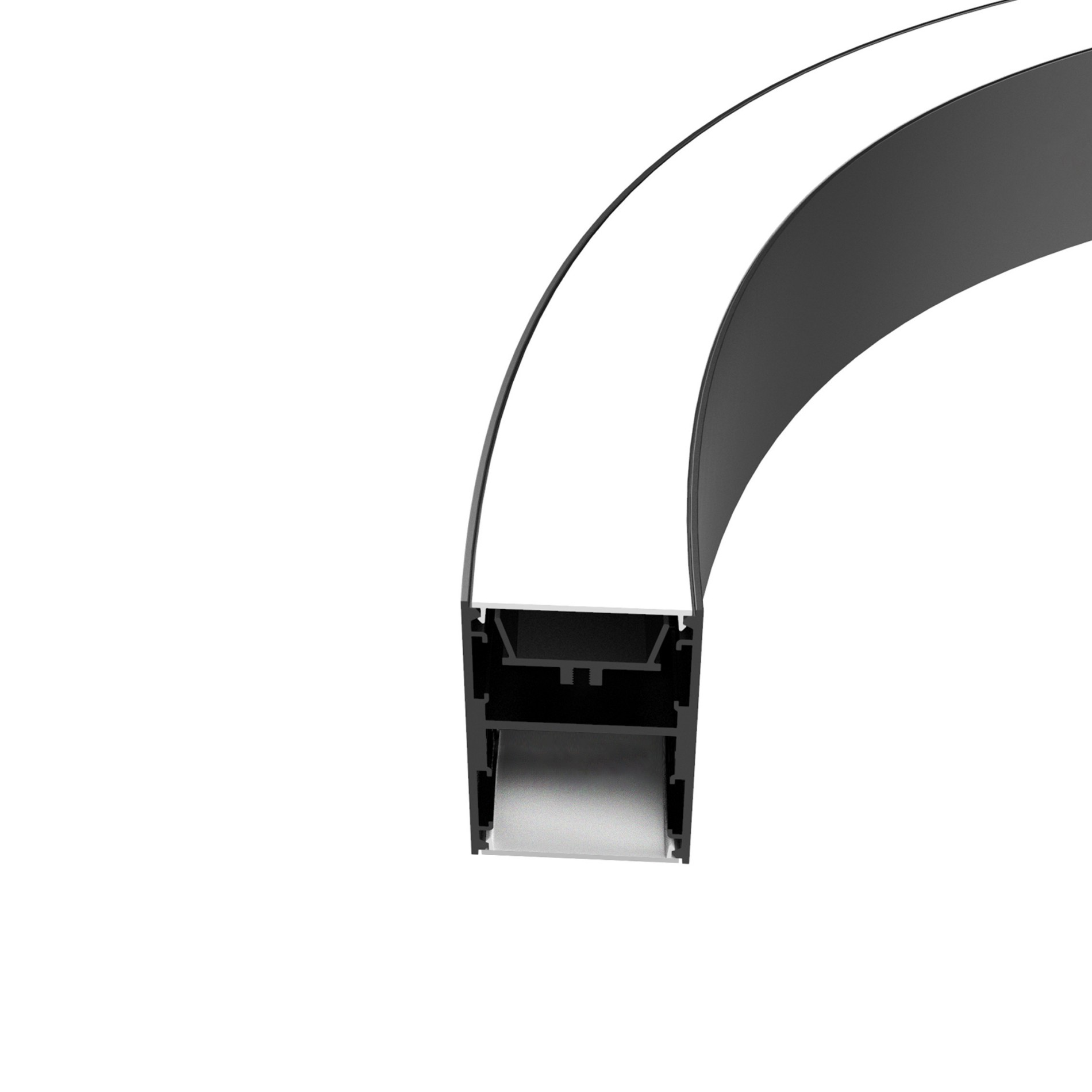 C50N 50mm wide Curved pendant profile 51x75mm Manufacturers, C50N 50mm wide Curved pendant profile 51x75mm Factory, Supply C50N 50mm wide Curved pendant profile 51x75mm