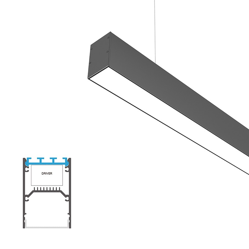 P46 Surface and suspended led profile 46x68.5mm