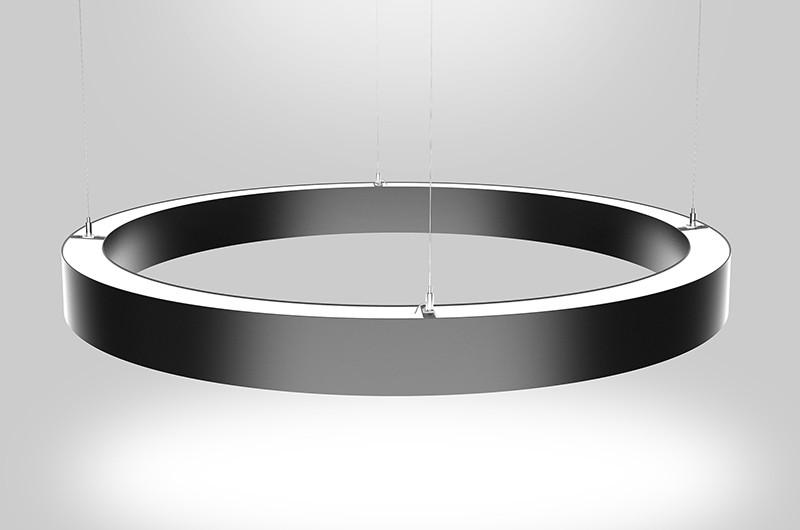 C50N 50 mm brede gebogen aluminium profielen