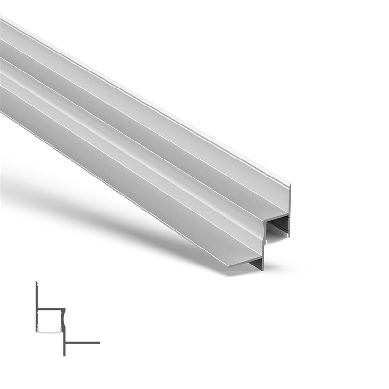 AT7N Indbygget kant LED-profil til LED Strip 55,5x65,5mm
