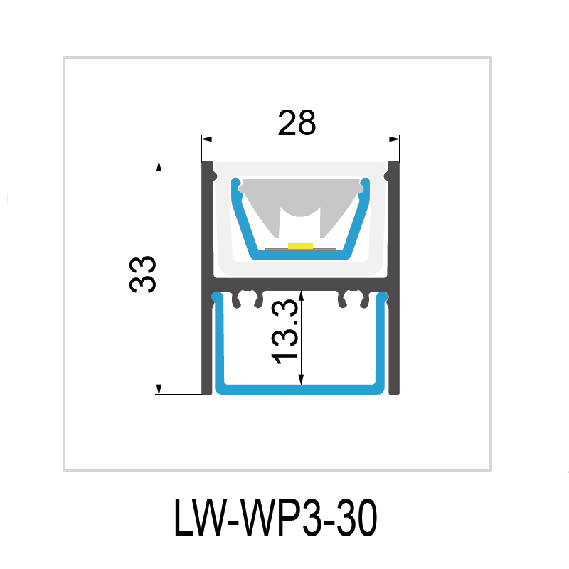 WP3-30° IP67 28x33mm Manufacturers, WP3-30° IP67 28x33mm Factory, Supply WP3-30° IP67 28x33mm