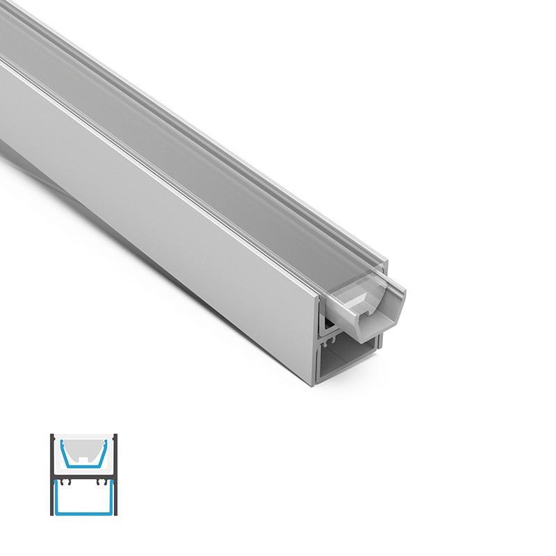 WP3-60 IP67 rated profile led light 28x33mm