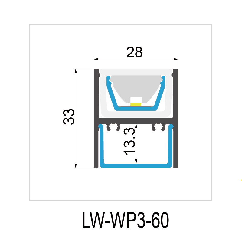 WP3-60° IP67 28x33mm Manufacturers, WP3-60° IP67 28x33mm Factory, Supply WP3-60° IP67 28x33mm