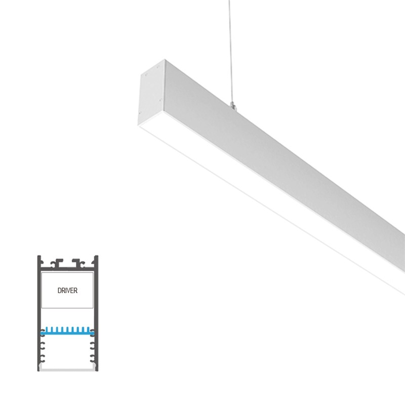 P35 Surface/ pendant H led profile 35x68mm