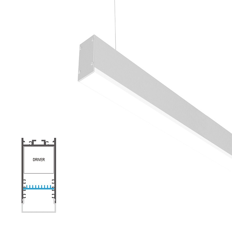 PU35 Surface/ pendant H led profile 35x68mm
