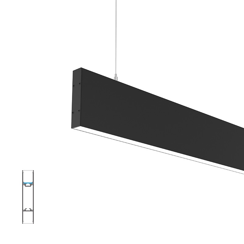 P24 Surface/ pendant H led profile 25x120mm
