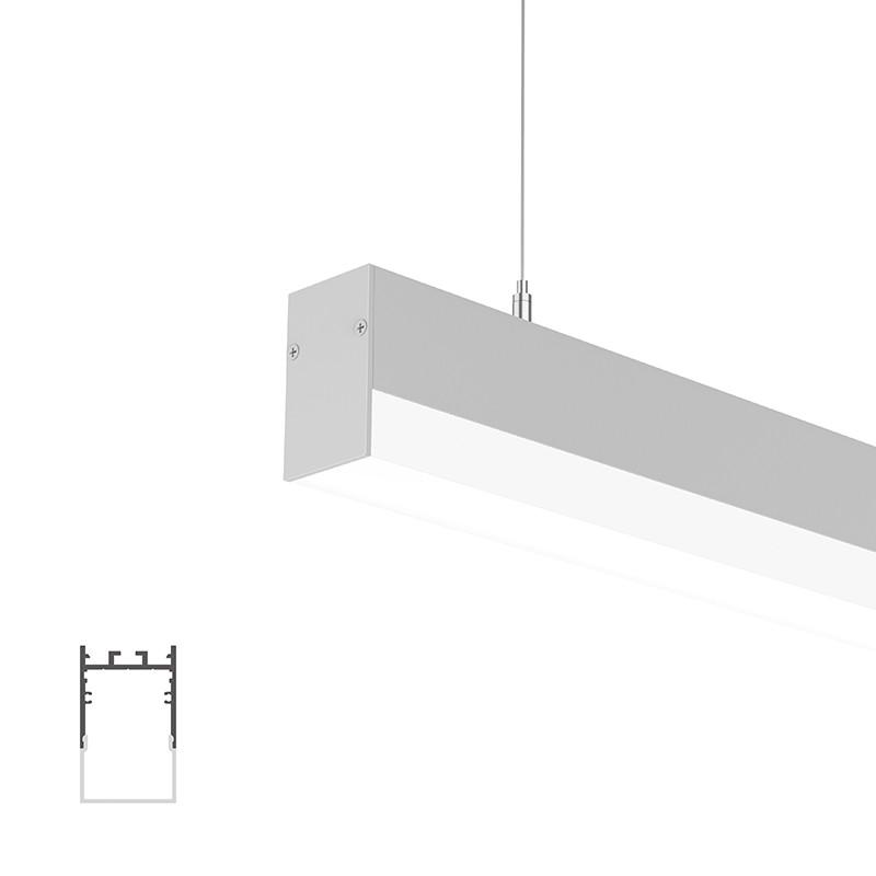 WUH35 Suspenderet profil 35x57,5 mm