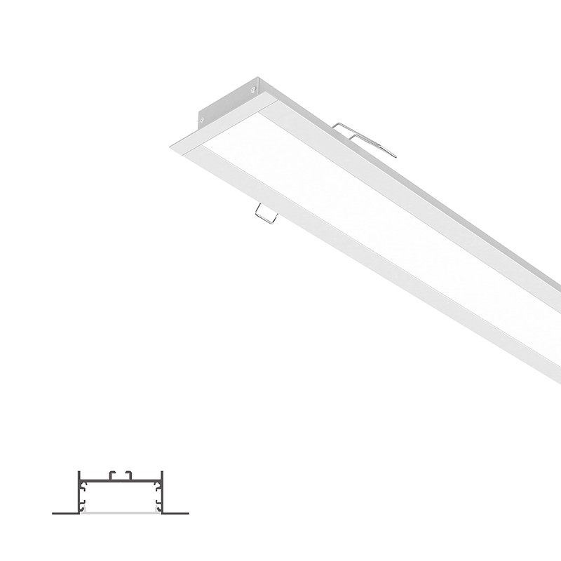 ER50-2 50mm Recessed Lower 80x25mm