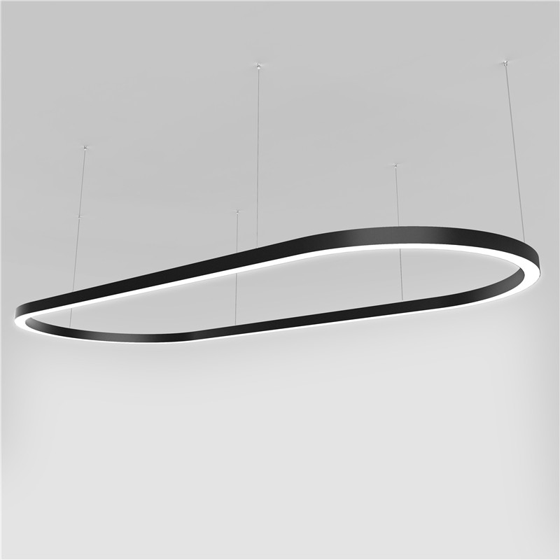 Custom Made Shape Suspension Curved Profile