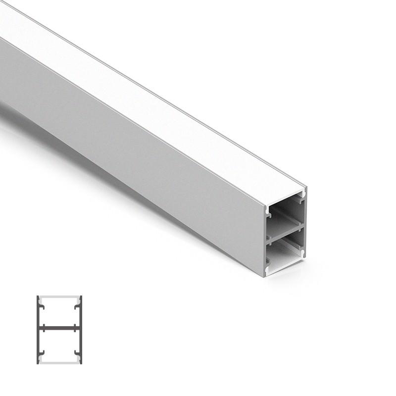 C25H H Led profiel 25 * 37,5 mm