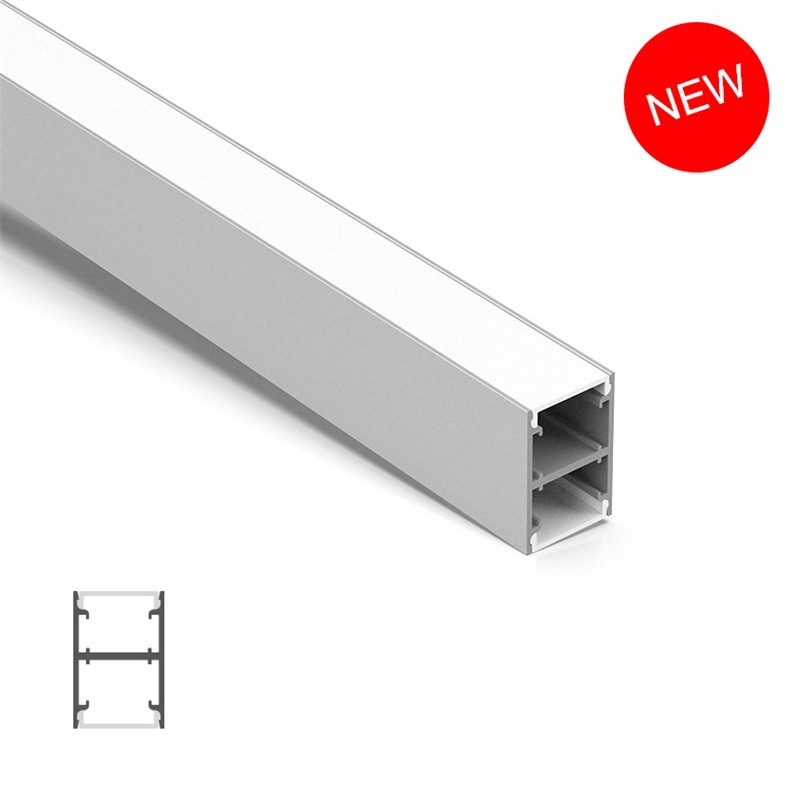 C25H H Led Profile 25*37.5mm