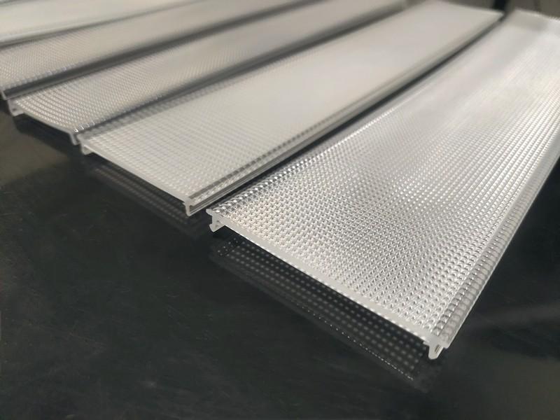 Micro Prismatic Glare Reduction Diffusers