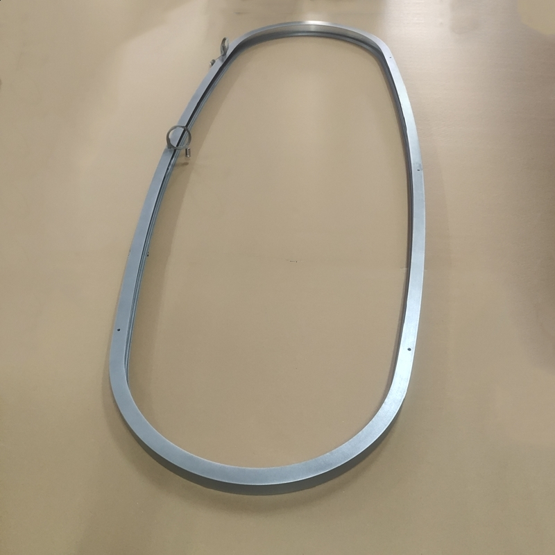 CS35 Silver Inward Oval Profile