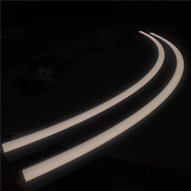 CR50 Linear curved LED Recessed Profile