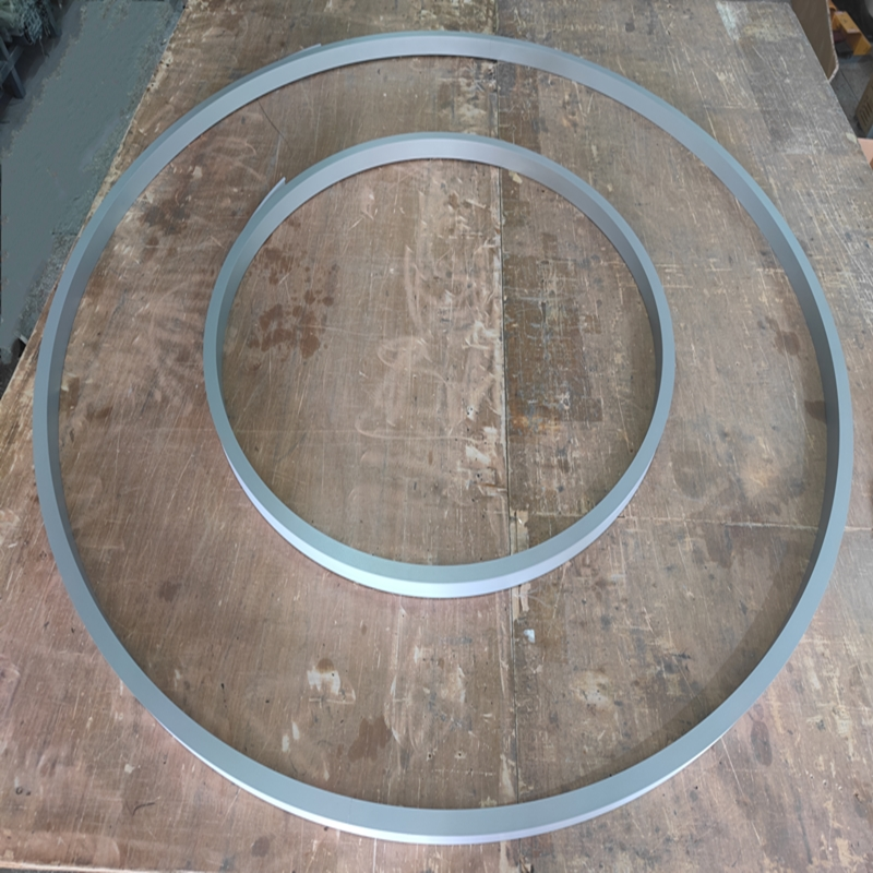 CS50 Silver Suspended Round Shaped Profile
