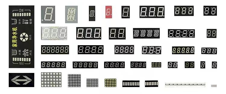 Single Digit 7 Segment LED Display