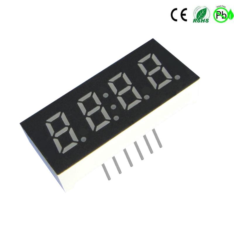 0,3 inch 4-cijferig 7 segment led-display groen