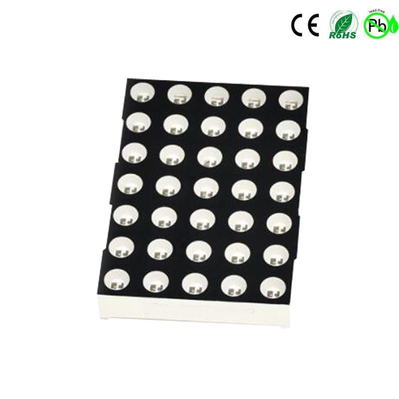 1,6 Zoll 5x7 weißes LED-Punktmatrix-Display