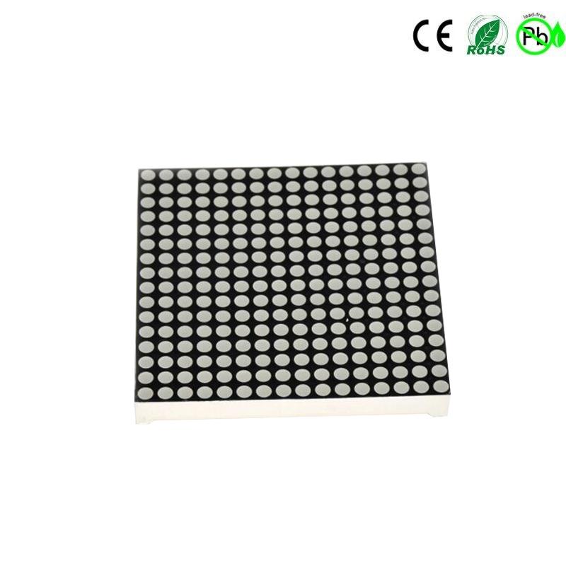 40x40 mm 16x16 tweekleurig dot matrix led-display