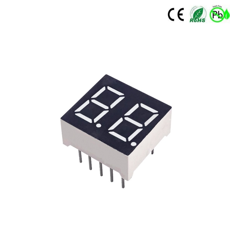 0,4 Zoll 2-stelliges rotes 7-Segment-LED-Anzeige-LED-Modul