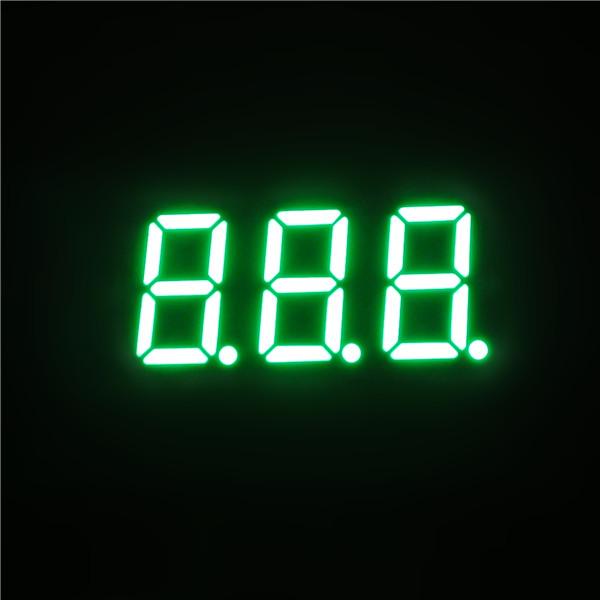 3 digit 7 segment led display