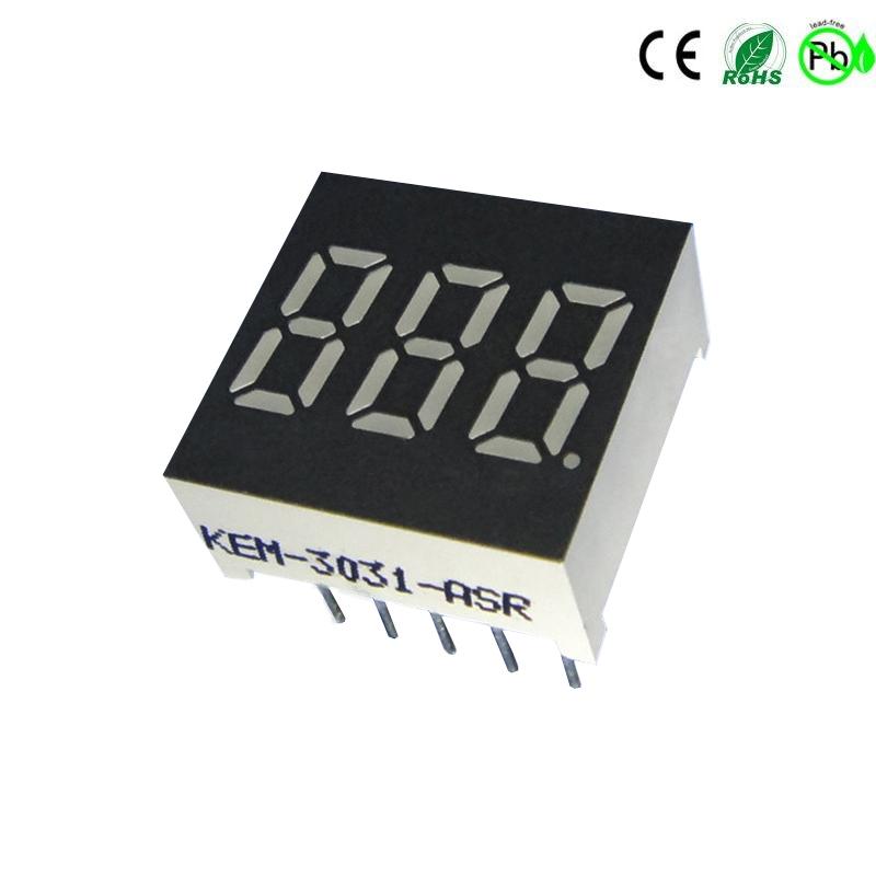 FND led-display 0.3 '''' 3-cijferig 7 segment led-display