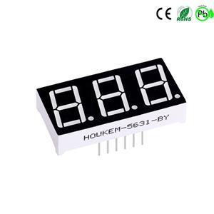 Houkem-5631-A/BSG 3-stellige 0,56'''' 7-Segment-LED-Anzeige