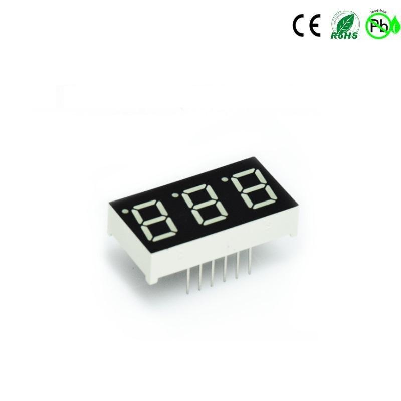 0,4 inch 3-cijferige rode kleur 7 segment numerieke led-display led-module