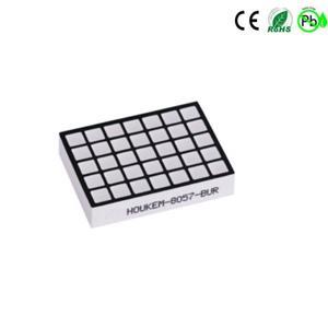 HOUKEM-8057-AB vierkant led-dotmatrix-display 5x7