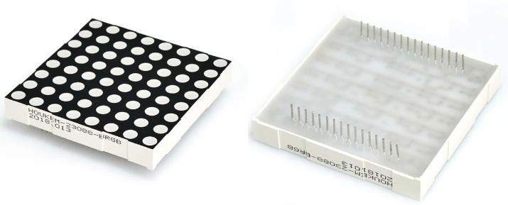 8x8 Dot Matrix Led Display