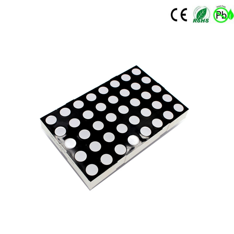 KEM-23058-A/BRGB 5x8 led matrix RGB 5x8 dot matrix-display