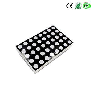 KEM-23058-A/BRGB 5x8 LED-Matrix RGB 5x8 Punktmatrix-Display