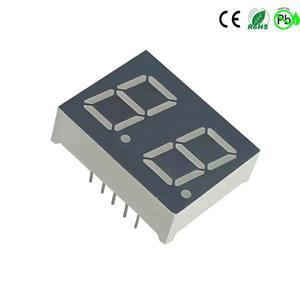 0,5 Zoll weiße 7-Segment-LED-Anzeige 2-stellig