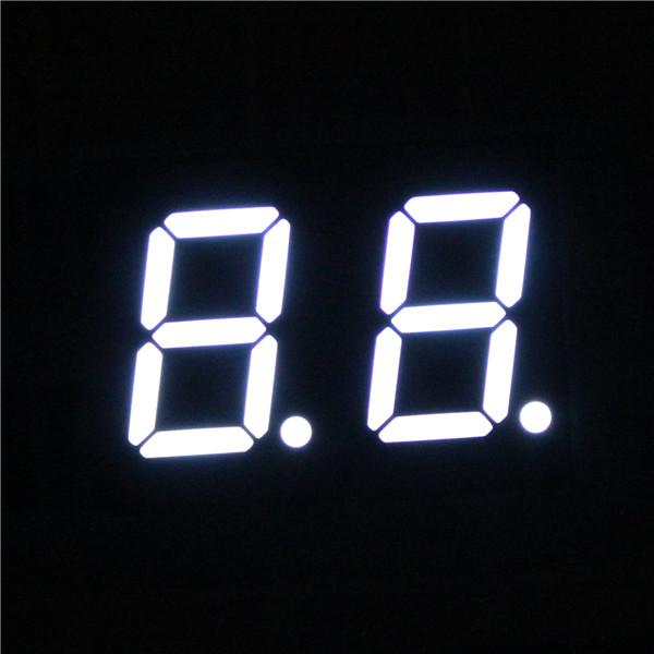 blue led 7 segment 2 digits