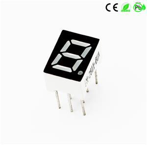 Mini 0,28 inch enkelcijferig 7-segment LED-display 1 cijfer 10PINs