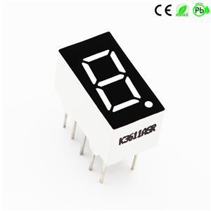 Nieuw LED 7-segments display Enkelcijferig numeriek LED-display 0,36 inch