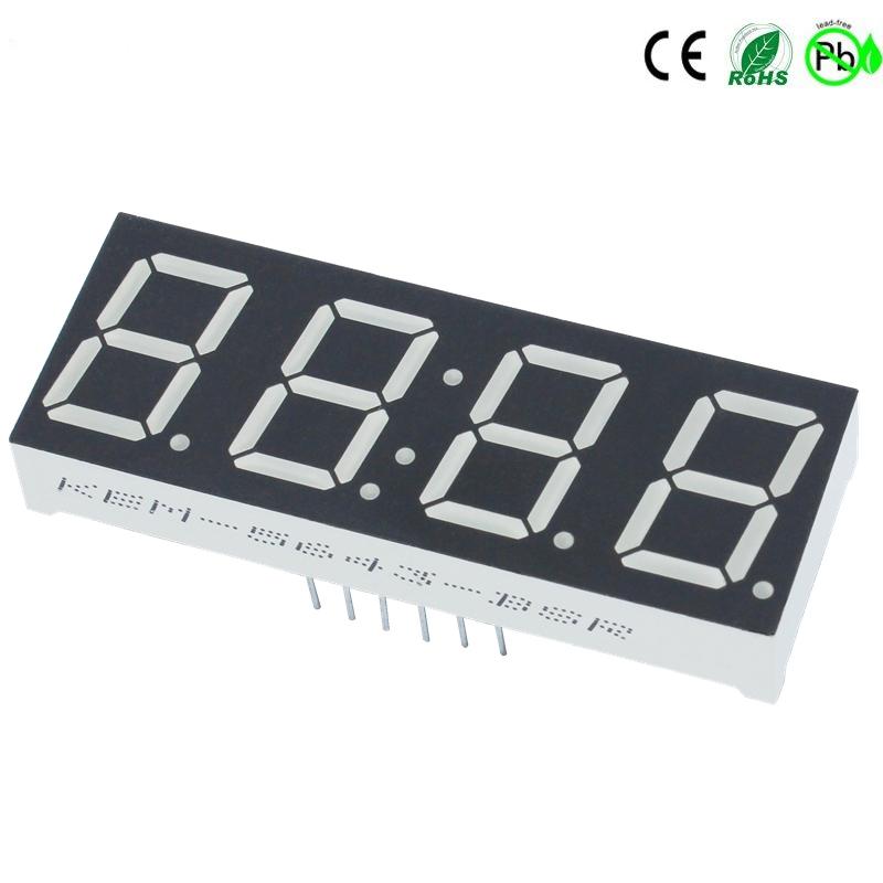 Topkwaliteit Digitale LED FND 0,56 inch 7-segment 4-cijferige LED-display Fabrikant: